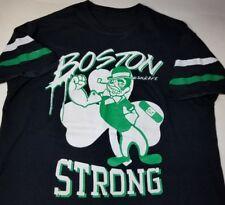VTG Boston Strong Larry Bird Legend S/S T Shirt Black Boston Medium? Bean Town