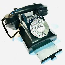 Vintage Bakelite GPO Telephone Model 332L, 1940's, Lovely - Converted, Working