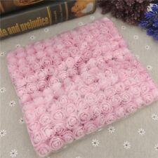 144pcs Artificial Flowers Mini Foam Roses with stem Wedding Bouquet Decor FLOWER