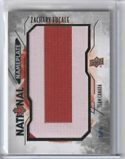 Zachary Fucale 2015-16 UD Team Canada Juniors National Nameplate U #d 2 of 6