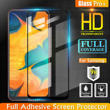For Samsung Galaxy A20 A30 A50 A70 A71 Full Tempered Glass Screen Protector