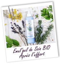 AROMA ZONE Emul'Gel De Soin Bio Après L'Effort 200mL Au Menthol&Romarin / EBUY
