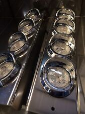 "Mirror Stainless - C/A 2"" Grommet Lights to suit Kenworth, Mack and Western Star"
