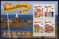 JERSEY MNH UMM STAMP SHEET 1990 SG MS525 FESTIVAL OF TOURISM