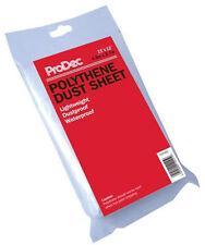 ProDec 15ft x 12ft Polythene Dust Sheet 4.6m x 3.6m Decorators Cover (PDPY003)