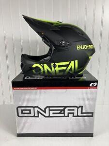 O'Neal Oneal Warp Blocker Mountain Bike Hemet Black/Yellow XL