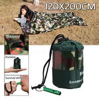 Emergency Sleeping Bag Camping Hiking Thermal Waterproof For Outdoor Survival