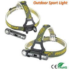 2000LM XPL V5 LED Running Headlamp Cycling headlight Hunting Flashligt Torch