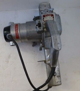 Vintage Porter Cable Drive 150P Planer Attachment / Rockwell 150M Motor