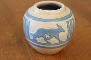 University of North Dakota coyote vase