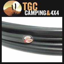 Automotive 12v 6mm twin core Australian made cable sold per metre 50 amp