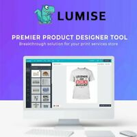 🥇 Lumise Product Designer ⭐ WooCommerce 💻 WordPress Plugin 🚀 Instant Delivery
