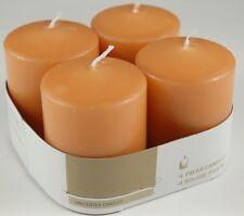 ds Set 4 Pz Candele Profumate Fragranza Arancia Arancioni Decorazione Votive dfh