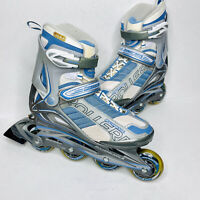 Rollerblade ZETRA XT Womens Inline Skates Roller Blades Size 8 US Blue