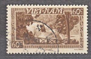 WIETNAM VIETNAM Fr. 1951 used SC#05 60c stamp, Bongour Falls, Dalat.