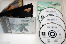 50 New High Quality Sony Playstation PS1 Final Fantasy VII Replacement Cases
