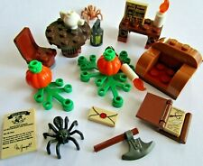 Lego Harry Potter Minifigure Accessories 75981, 75953, 75947 - Spiders Bats etc