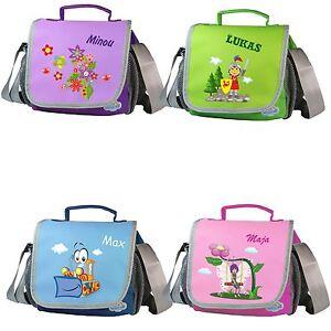 Kindergartentasche Happy Knirps® Name Wunschmotiv Umhängetasche Kinder Tasche
