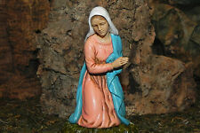 Christmas Nativity Scene Mary Figurine Manger Scene Creche Pesebre Landi Pesebre