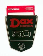 Original Label Aufkleber Emblem Sticker Rahmen frame body Honda Dax ST 50 6 Volt