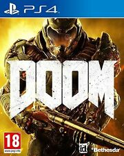 Doom PLAYSTATION 4 PS4 Excelente - 1st Class Delivery
