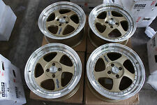 "JDM 17"" Rotifom Style wheels meister sp1 professor miata civic accord S1 borbet"