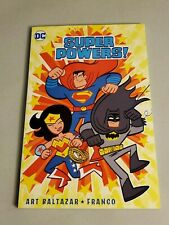 Super Powers Volume 1 GN Art Baltazar Franco Itty Bitty Justice League New NM