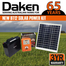 Daken 12KM BT12-Solar Power Electric Fence Energiser