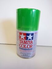 Tamiya - COLOR SPRAY PAINT FOR POLYCARBONATE 100 ml - PS-28 FLOURESCENT GREEN