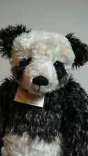 Hay-Low Large Panda Teddy Bear By Angie Butcher Of Angies Bears