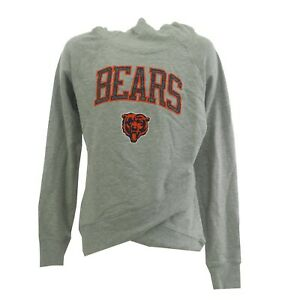 Chicago Bears Official NFL Apparel Kids Youth Size Hooded Sweatshirt New Tags