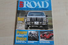 163931) Jeep Cherokee Laredo 4.0 im TEST - Off Road 06/1987