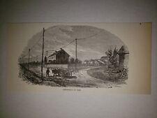 Crysler's Farm Battle 1855 1893 Harper's Weekly Sketch Print