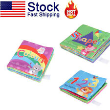 Baby Cloth Books Soft Early Educational Toys for Toddlers Boys Girls Perfect Gif