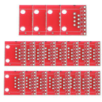 20Piece RJ45 8P8C Connector and Breakout Board Kit 20*15*2mm