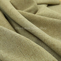 Plain Heritage Matt Soft Chenille Quality Upholstery Curtain Fabric In New Green