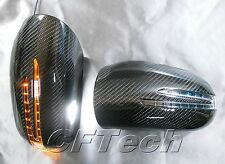 Mercedes Benz W215 04~06 CL-Class 3K CARBON FIBER Arrow LED Side Mirror Cover