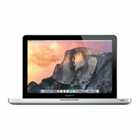 "Apple MacBook Pro 13.3"" Laptop Intel Core i5 2.50GHz 8GB RAM 500GB HDD MD101LL/A"