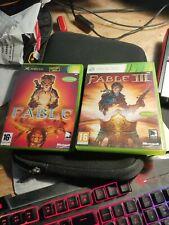 Bundle Fable + fable 3 sans notice Xbox 360