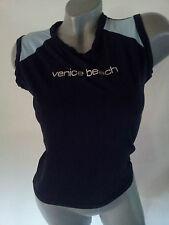 T-Shirt Shirt blau Gr. L ärmellos stretch von Venice Beach .   ..    D