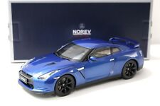 1:18 Norev Nissan GTR R35 Coupe 2008 blue NEW bei PREMIUM-MODELCARS