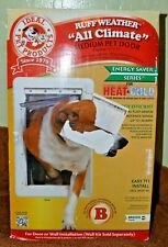 NEW Ideal Pet Products Ruff Weather All Climate Medium Pet Door Model RWM