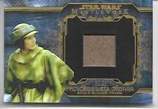 Princess Leia Shield Bunker Frame Relic Star Wars Masterwork 2015 #5/10