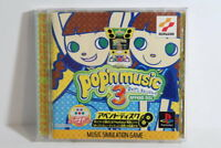 Pop'n Music 3 Append Disc PS1 PS PlayStation 1 PSX Japan Import US Seller