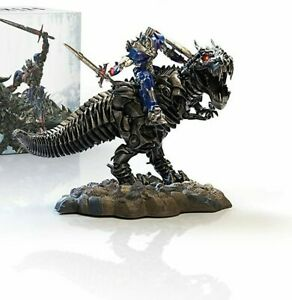 Transformers Optimus Prime Dinobot Statue Ära des Untergangs / Age of Extinction