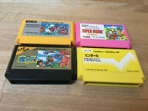 Famicom Ghosts and goblins, Super Mario, Pinball