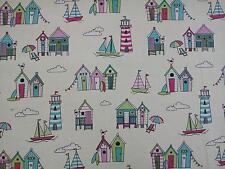 Happy Days Candy casetas de playa tejido de algodón