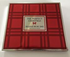 The Perfect Christmas CD Make a Wish Bath & Body Works 2005 OOP 3 CDs