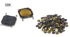 10 PULSANTI TATTILI 4X4X0,8 mm circuito arduino micro mini switch button PCB SMD