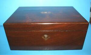 Antique Large Mahogany Lap/Slope Desk